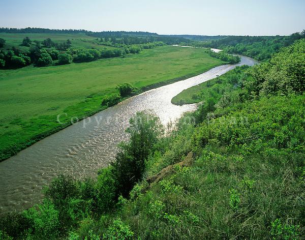 Niobrara River, National Wild & Scenic River, east of Valentine, Nebraska, AGPix_03889.