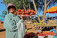 Market life in Cambodia