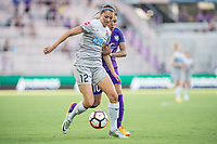 Orlando, FL - Sunday May 14, 2017: Ashley Hatch, Marta  during a regular season National Women's Soccer League (NWSL) match between the Orlando Pride and the North Carolina Courage at Orlando City Stadium.