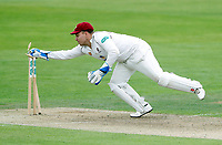 Adam Rossington in action for Northants during the County Championship Division Two game between Kent and Northants at the St Lawrence ground, Canterbury, on Sept 4, 2018.