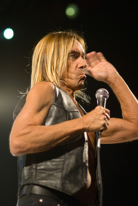 Iggy & The Stooges play All Tomorrow's Parties curated by Matt Groening. Minehead, England May 7 2010.