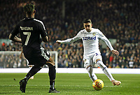 Leeds United's Pablo Hernandez under pressure from Reading's Leandro Bacuna<br /> <br /> Photographer Rich Linley/CameraSport<br /> <br /> The EFL Sky Bet Championship - Leeds United v Reading - Tuesday 27th November 2018 - Elland Road - Leeds<br /> <br /> World Copyright © 2018 CameraSport. All rights reserved. 43 Linden Ave. Countesthorpe. Leicester. England. LE8 5PG - Tel: +44 (0) 116 277 4147 - admin@camerasport.com - www.camerasport.com