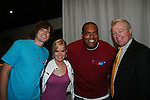 Zack Conroy - Crystal Hunt - Sean Ringgold - Jerry VerDorn at the 2009 Daytime Stars and Strikes to benefit the American Cancer Society to benefit the American Cancer Society on October 11, 2009 at the Port Authority Leisure Lanes, New York City, New York. (Photo by Sue Coflin/Max Photos)