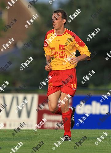 2010-08-11 / Voetbal / seizoen 2010-2011 / KFC Oosterzonen / Tom T'Seyen..Foto: mpics