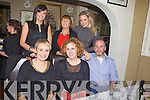 Traders and business people from Church Street, Listowel who came together for an early Christmas party, pictured here last Saturday night in Allos Restaurant was staff and management from The Vanity Case, f l-r: Lorraine Triggs, Jennifer Vaughan, Joe Triggs. B l-r: Marie O'Connor, Ita Vaughan and Maeve Dalton.