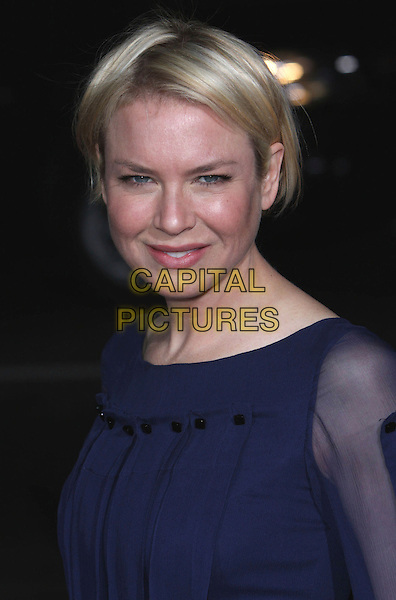"RENEE ZELLWEGER .""Leatherheads"" World Premiere held at Grauman's Chinese Theatre, Hollywood, California, USA, 31 March 2008..portrait headshot blue .CAP/ADM/`CH.©Charles Harris/Admedia/Capital PIctures"