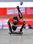 17 December 2010: Hiroatsu Takahashi sliding for Japan, finishes in 21st place at the Viessmann FIBT Skeleton World Cup Championships in Lake Placid, New York, USA. Mandatory Credit: Ed Wolfstein Photo