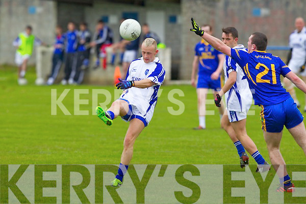 Kerins O'Rahillys in action against Timmy Hussey Spa, Killarney at Strand Road, Tralee in Sunday in Round Five of the County League.