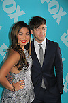 Jenna Ushkowitz & Kevin McHale - Glee at the 2013 Fox Upfront Post Party on May 13, 2013 at Wolman Rink, Central Park, New York City, New York. (Photo by Sue Coflin/Max Photos)