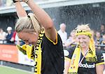 DEN BOSCH - Maartje Paumen (Den Bosch) , die haar laatste wedstrijd voor haar club speelde,  na  de finale van de EuroHockey Club Cup, Den Bosch-UHC Hamburg (2-1) . COPYRIGHT  KOEN SUYK