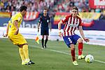 Atletico de Madrid´s Filipe Luis during 2015-16 La Liga match at Vicente Calderon stadium in Madrid, Spain. MONTH XX, 2015. (ALTERPHOTOS/Victor Blanco)