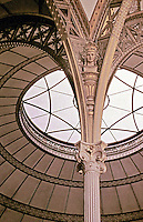 Salle de Travail (ceiling detail), Bibliotheque Nationale, Paris. Designed by Architect Henri Labrouste.