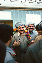 Iran 1979.Abdul Rahman Ghassemlou taking his leave after the speech he gave in Mahabad