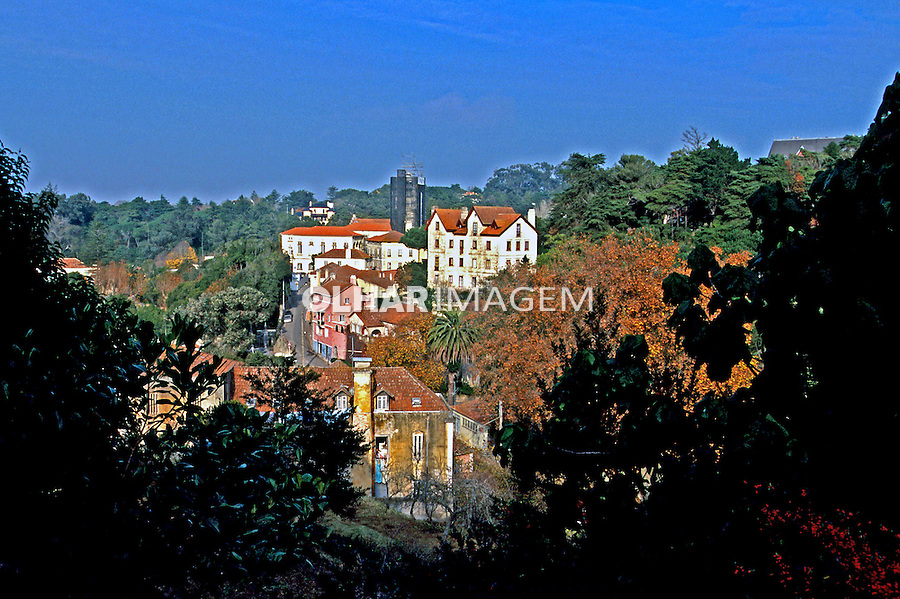 Cidade de Sintra, Portugal. 1999. Foto de Juca Martins.