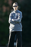 16 November 2012: Baylor head coach Marci Jobson. The Baylor University Bears played the Georgetown University Hoyas at Fetzer Field in Chapel Hill, North Carolina in a 2012 NCAA Division I Women's Soccer Tournament Second Round game. Baylor won the game 2-1 in overtime.