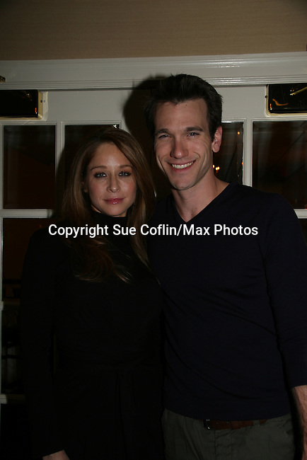 Jamie Luner & Adam Mayfield at a benefit for American Lung Association on December 6, 2009 at Mezza on the Green at the Lawrence Country Club. (Photos by Sue Coflin/Max Photos)