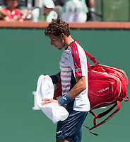 PABLO CARRENO BUSTA (ESP)<br /> <br /> BNP PARIBAS OPEN, INDIAN WELLS, TENNIS GARDEN, INDIAN WELLS, CALIFORNIA, USA<br /> <br /> &copy; TENNIS PHOTO NETWORK