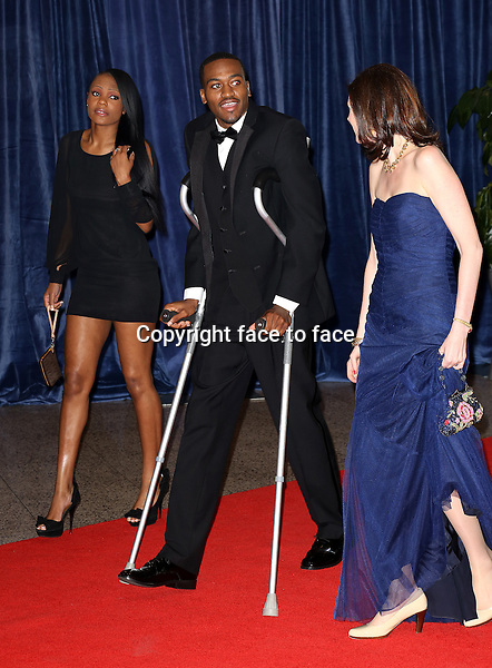 Kevin Ware attending the 2013 White House Correspondents' Association Dinner at the Washington Hilton Hotel in Washington, DC on April 27, 2013..Credit: McBride/face to face