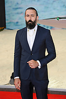 LONDON, ENGLAND - JULY 13: Scroobius Pip attending the World Premiere of 'Dunkirk' at Odeon Cinema, Leicester Square on July 13, 2017 in London, England.<br /> CAP/MAR<br /> &copy;MAR/Capital Pictures /MediaPunch ***NORTH AND SOUTH AMERICAS ONLY***