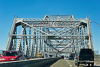 Tappan Zee Bridge crosses the Hudson River connecting Nyack with Tarrytown, New York, USA