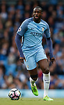 Yaya Toure of Manchester City in action during the English Premier League match at the Etihad Stadium, Manchester. Picture date: May 16th 2017. Pic credit should read: Simon Bellis/Sportimage