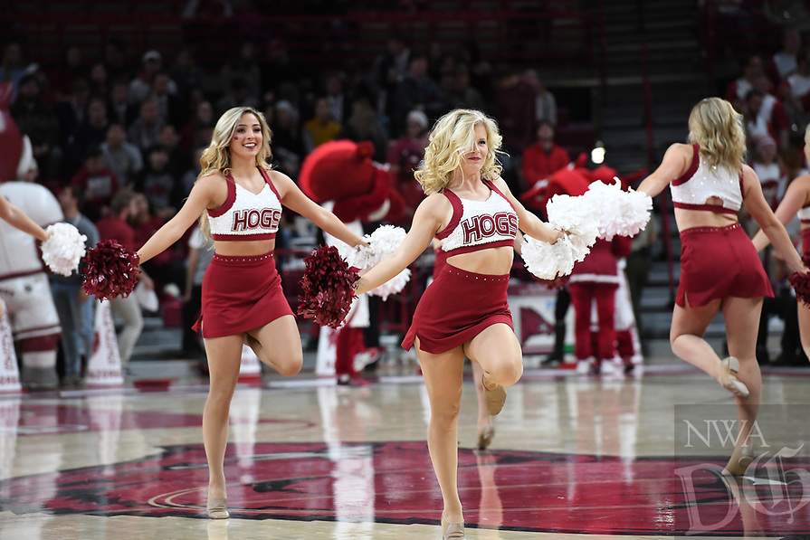 NWA Democrat-Gazette/J.T. WAMPLER Image from Arkansas' game against UC Davis Monday Nov. 12, 2018 at Bud Walton Arena in Fayetteville.