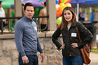 Instant Family (2018) <br /> Rose Byrne and Mark Wahlberg  <br /> *Filmstill - Editorial Use Only*<br /> CAP/MFS<br /> Image supplied by Capital Pictures