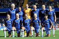 Chelsea Women's Team Photo during Chelsea Women vs Tottenham Hotspur Women, Barclays FA Women's Super League Football at Stamford Bridge on 8th September 2019