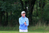 Karen Murphy (Mount Juliet) on the 1st fairway during the Final round of the Irish Mixed Foursomes Leinster Final at Millicent Golf Club, Clane, Co. Kildare. 06/08/2017<br /> Picture: Golffile | Thos Caffrey<br /> <br /> <br /> All photo usage must carry mandatory copyright credit      (&copy; Golffile | Thos Caffrey)