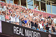 Landover, MD - August 4, 2018: The fans do the wave during the match between Juventus and Real Madrid at FedEx Field in Landover, MD.   (Photo by Phillip Peters/Media Images International)