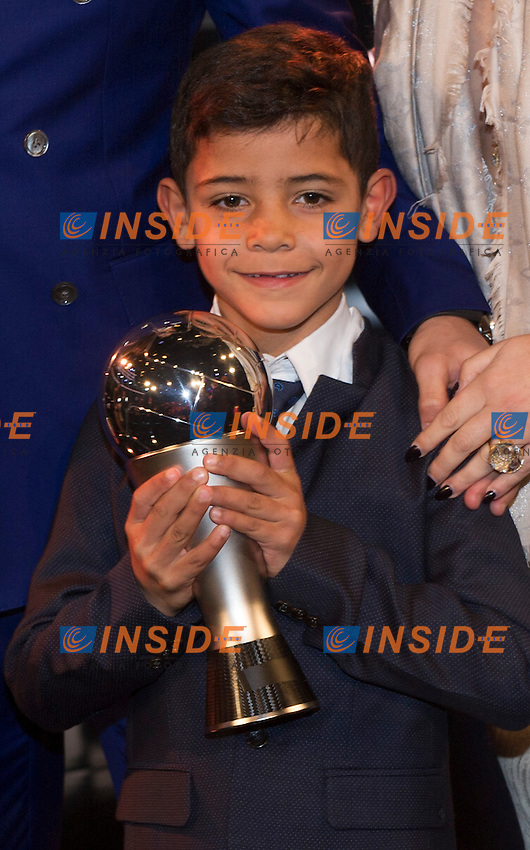 Zurigo 09-01-2017 FIFA Football Awards - The son of Cristiano Ronaldo during the Best FIFA Football Awards 2016 in Zurich<br /> Foto Steffen Schmidt/freshfocus/Insidefoto