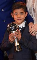 Zurigo 09-01-2017 FIFA Football Awards - The son of Cristiano Ronaldo during the Best FIFA Football Awards 2016 in Zurich<br /> Foto Steffen Schmidt/freshfocus/Insidefoto