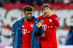 09.11.2019, Allianz Arena, Muenchen, GER, 1.FBL,  FC Bayern Muenchen vs. Borussia Dortmund, DFL regulations prohibit any use of photographs as image sequences and/or quasi-video, im Bild Kingsley Coman (FCB #29) mit Thomas Mueller (FCB #25) <br /> <br />  Foto © nordphoto / Straubmeier