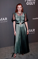 NEW YORK, NY - FEBRUARY 6: Karen Elson arriving at the 21st annual amfAR Gala New York benefit for AIDS research during New York Fashion Week at Cipriani Wall Street in New York City on February 6, 2019. <br /> CAP/MPI99<br /> &copy;MPI99/Capital Pictures