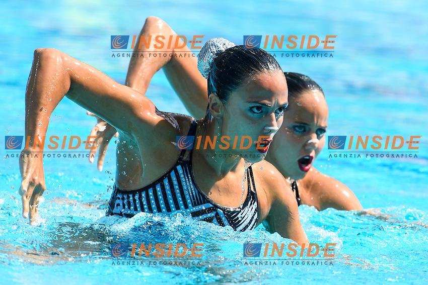 COL - Colombia  <br /> ALVAREZ PIEDRAHITA Estefania ARANGO ESTRADA Monica Sarai<br /> Duets Technical Routine <br /> Rio de Janeiro 15-08-2016 Maria Lenka Aquatics Center  <br /> Synchronised Swimming <br /> Nuoto Sincronizzato <br /> Foto Andrea Staccioli / Deepbluemedia /Insidefoto