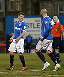 Andy Murdoch celebrates after scoring for Rangers