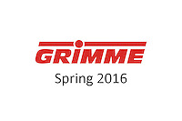 Grimme - Spring 2016