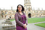 Bettany Hughes at Christ Church during the Sunday Times Oxford Literary Festival, UK, 24 March - 1 April 2012. ..PHOTO COPYRIGHT GRAHAM HARRISON .graham@grahamharrison.com.+44 (0) 7974 357 117.Moral rights asserted.