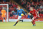 08.05.2018 Aberdeen v Rangers:  David Bates and Sam Cosgrove