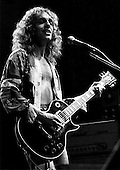 Peter Frampton - performing live in London UK- 1975.  Photo credit: Ian Dickson/IconicPix  **LO-RES IMAGE**