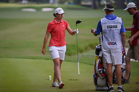 Carlota Ciganda (ESP) after her tee shot on 10 during round 4 of the U.S. Women's Open Championship, Shoal Creek Country Club, at Birmingham, Alabama, USA. 6/3/2018.<br /> Picture: Golffile | Ken Murray<br /> <br /> All photo usage must carry mandatory copyright credit (&copy; Golffile | Ken Murray)