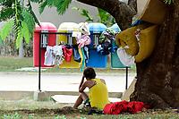 Praça do garimpeiro ou Praça do Centro Cívico em frente ao Palácio do Governo.<br /> Boa Vista, Roraima.<br /> ©Jorge Macedo<br /> 13/02/2018 <br />  De acordo com dados da prefeitura, 40 mil imigrantes estao vivendo na cidade, representando mais de 10% de sua populacao de 330.000 habitantes.
