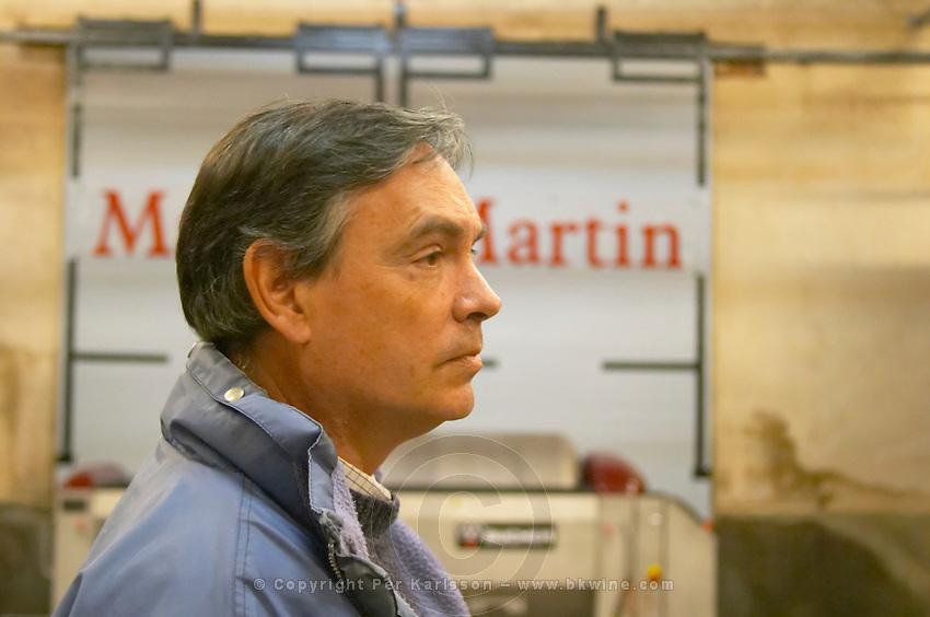 Christian Mocci Domaine de Mas de Martin, St Bauzille de Montmel. Gres de Montpellier. Languedoc. Owner winemaker. France. Europe.