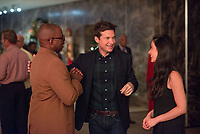 Office Christmas Party (2016)<br /> Courtney B. Vance, Jason Bateman &amp; Olivia Munn                  <br /> *Filmstill - Editorial Use Only*<br /> CAP/KFS<br /> Image supplied by Capital Pictures