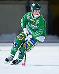 Stockholm 2013-02-10 Bandy Elitserien , Hammarby IF - IFK Vänersborg :  .Hammarby 40 Adam Gilljam Giljam  i aktion.(Byline: Foto: Kenta Jönsson) Nyckelord:  porträtt portrait