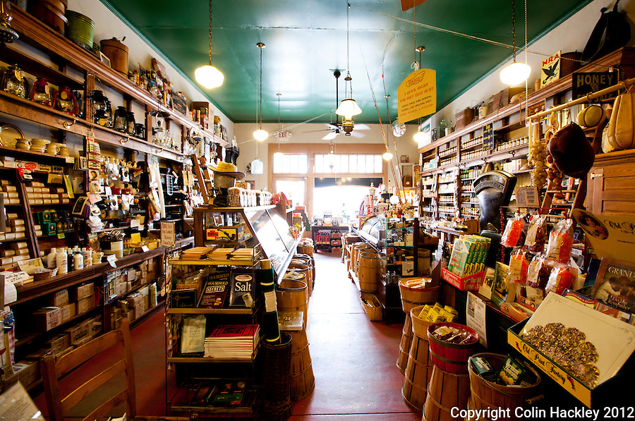 Visitors to DeFuniak Spring's The Little Big Store step back in time when they enter the general mercantile on 8th Street...COLIN HACKLEY PHOTO