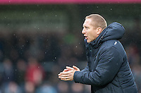 Wycombe Wanderers Assistant Manager Richard Dobson during the Sky Bet League 2 match between Wycombe Wanderers and Crawley Town at Adams Park, High Wycombe, England on 25 February 2017. Photo by Andy Rowland / PRiME Media Images.