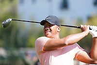 Jhonattan Vegas (VEN) In action during the second round of the The Genesis Invitational, Riviera Country Club, Pacific Palisades, Los Angeles, USA. 13/02/2020<br /> Picture: Golffile | Phil Inglis<br /> <br /> <br /> All photo usage must carry mandatory copyright credit (© Golffile | Phil Inglis)