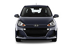 Car photography straight front view of a 2019 Hyundai i10 Twist 5 Door Hatchback Front View