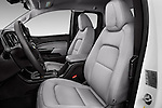 Front seat view of 2017 Chevrolet Colorado 2WD wt Extended Cab 3 Door Pick-up Front Seat  car photos